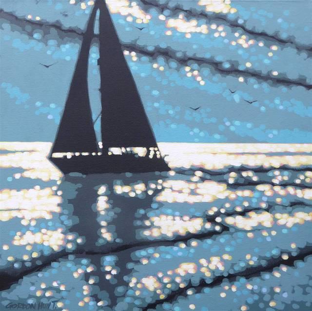 , 'Sailing the Sunshine,' 2018, Agora Gallery