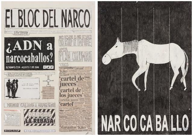 , 'El Bloc Del Narco #2,' 2016, Steve Turner