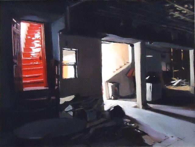 , 'Back Stair,' 2017, Cerulean Arts