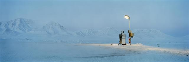 , 'Gasoline Pump in moonlight, Barentsburg series,' 2007, Artistics
