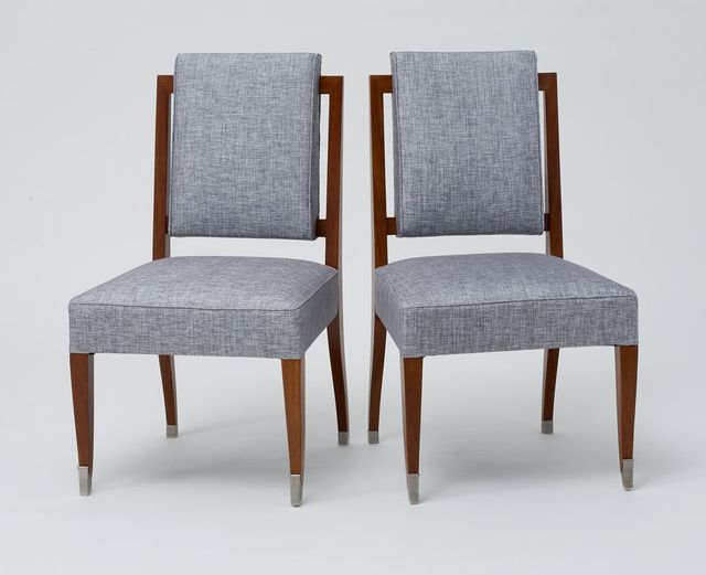 , 'A PAIR OF SIDE CHAIRS,' ca. France-circa 1960, Maison Gerard