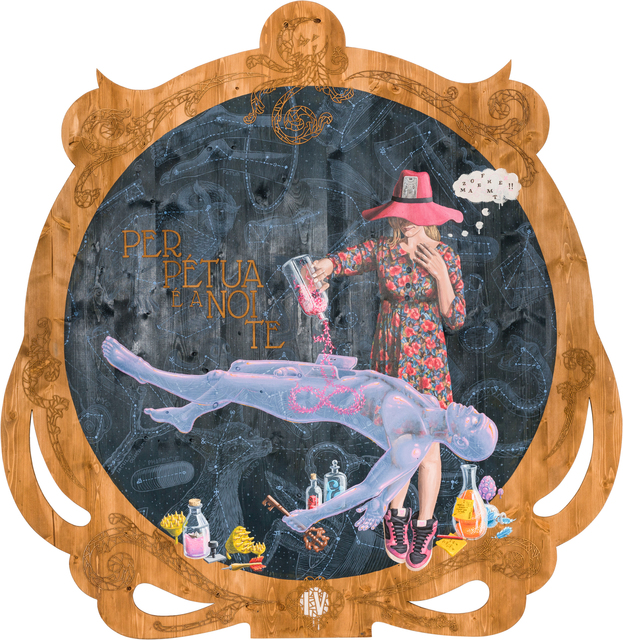 , '4. Perpétua é a noite (Perpetual Is the Night),' 2017, Underdogs Gallery