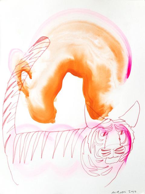 , 'Tiger Rainbow Jazz,' 2017, Helikon Gallery & Studios