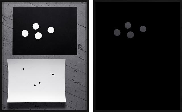 , 'Black Canson Mi-Teintes and Epson Premium Semi-Matte,' 2014, Galerie Christophe Gaillard