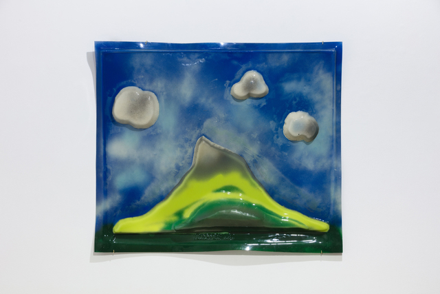 , 'Landscape with 3 clouds,' 1965, Hales Gallery