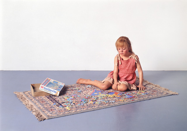 , 'Child with Puzzle,' 1978, Gagosian
