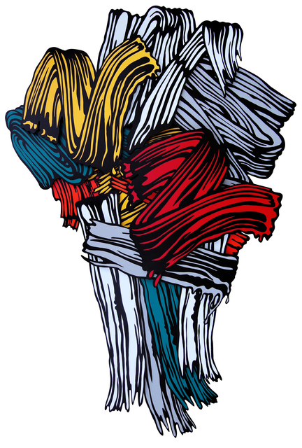 , 'Flowing Brush,' 2016, Pyo Gallery