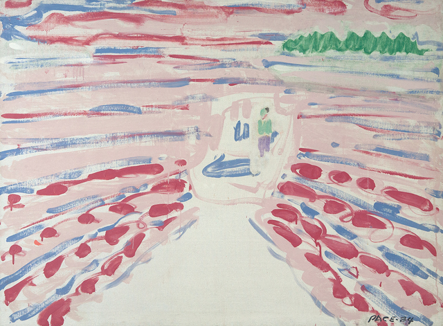 , 'Red Wake,' 1984, Dowling Walsh