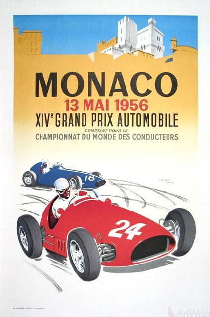 , 'Monaco Grand Prix 1956,' 1987, ArtWise