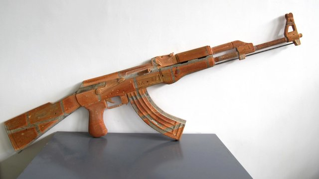 , 'AK 47,' 2016, Leo Gallery