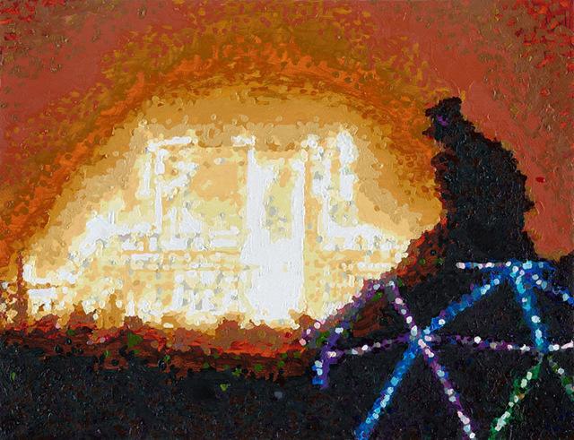 , 'Temple Burn,' 2018, ART / OF GALLERY