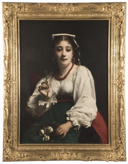 , 'Portrait of an Italian Woman,' ca. 1890, Anthony's Fine Art