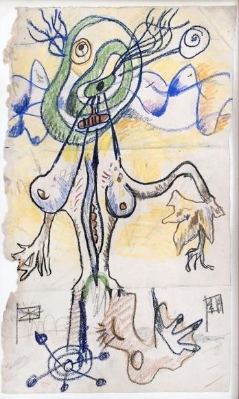 Kurt Seligmann, 'Surrealist Standing Female Figure', 1958-1960, Dean Borghi Fine Art