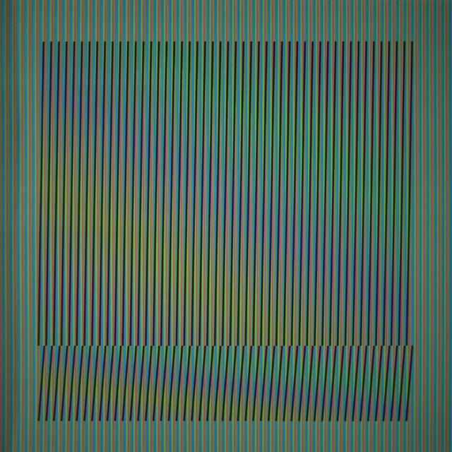 , 'Induction Chromatique a double frequence Orinoco 4,' 2018, Polígrafa Obra Gráfica
