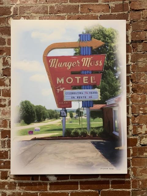 , 'Munger Moss Motel,' 2016, Mason-Nordgauer Fine Arts Gallery