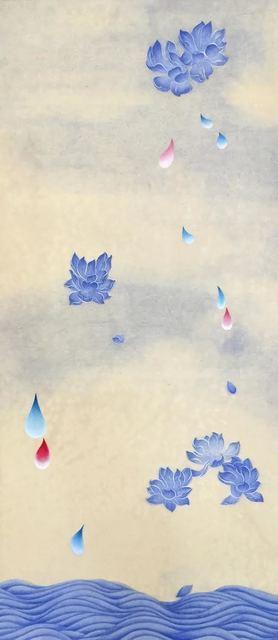 Kate Oh, '꽃비4 (Rain Drop 4)', 2016, Kate Oh Gallery