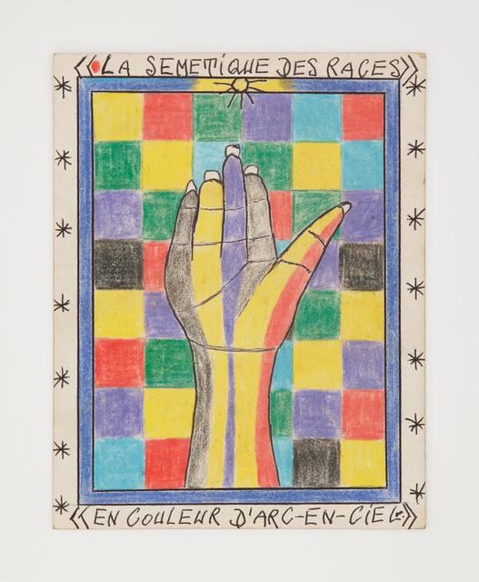 , 'Untitled (La Sémantique des Races),' 2000, Burning in Water