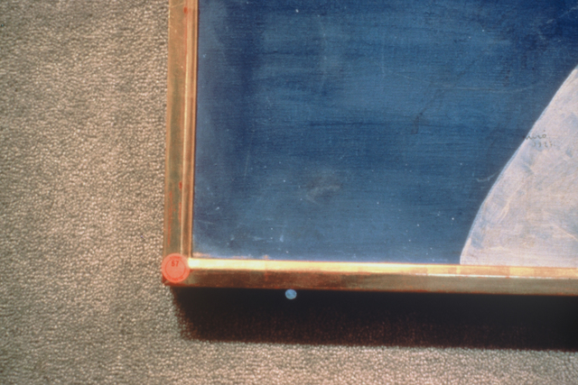 , 'Blue Nail,' 1990, Galerie Isabella Czarnowska