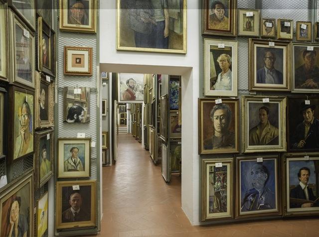 , 'Treasure Rooms of the Galleria Degli Uffizi - Florence,' 2014, Robert Mann Gallery