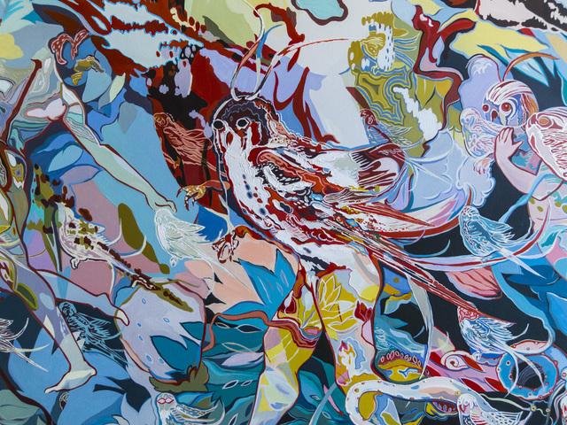 , 'Pangaea Ultima II, fragment,' 2015, Gridchinhall