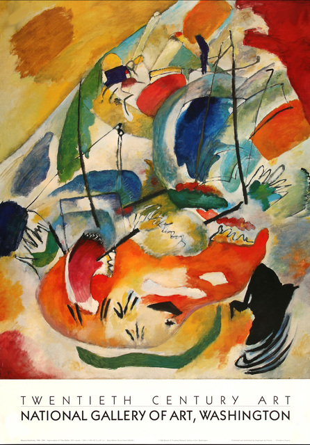 Wassily Kandinsky, 'Improvisation 31 (Sea Battle) 1913, HOLIDAY SALE $150 OFF THRU MAKE OFFER', 1988, David Lawrence Gallery