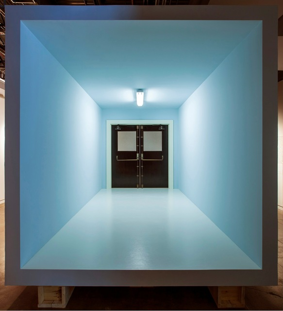 , 'No title (room, panic doors),' 2013-2014, Gagosian