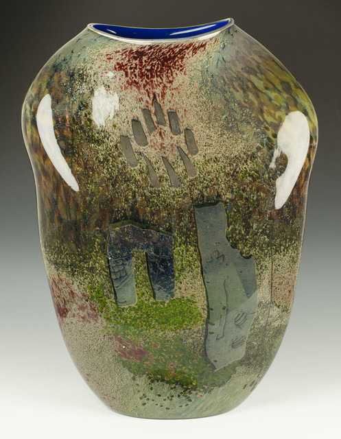 , 'Petroglyph Vessel,' 1985, Abmeyer + Wood Fine Art
