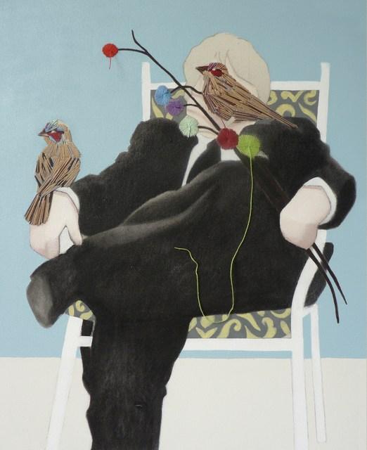 Anibal Vallejo, 'DESPUES DE GILLIAN WEARING - DIPTYCH', 2013, Galerie Vivendi