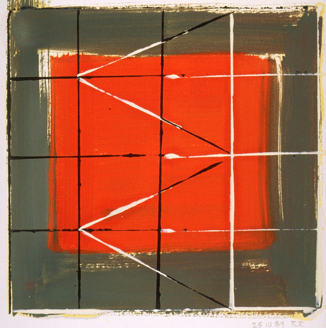 , 'Wallseries Study #7,' 1989, Galerie d'Orsay