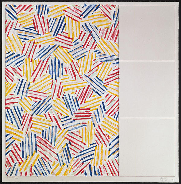 Jasper Johns, '#1 (after Untitled 1975), from 6 lithographs (after Untitled 1975, 1976', 1976, Adam Biesk Inc.