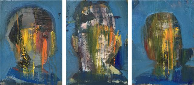 , 'Heroes (Triptychon),' 2018, Barbara Thumm