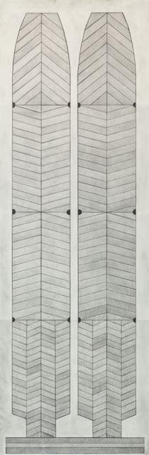 , 'Pale Shields,' 1998, Tufenkian Fine Arts