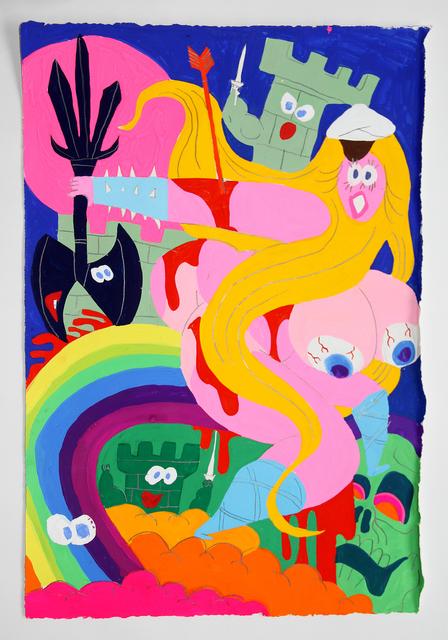 Todd James, 'Untitled (Rainbow)', 2014, ALICE Gallery