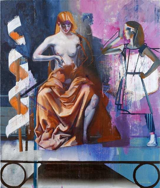, 'Thron (2),' 2018, Josef Filipp Galerie