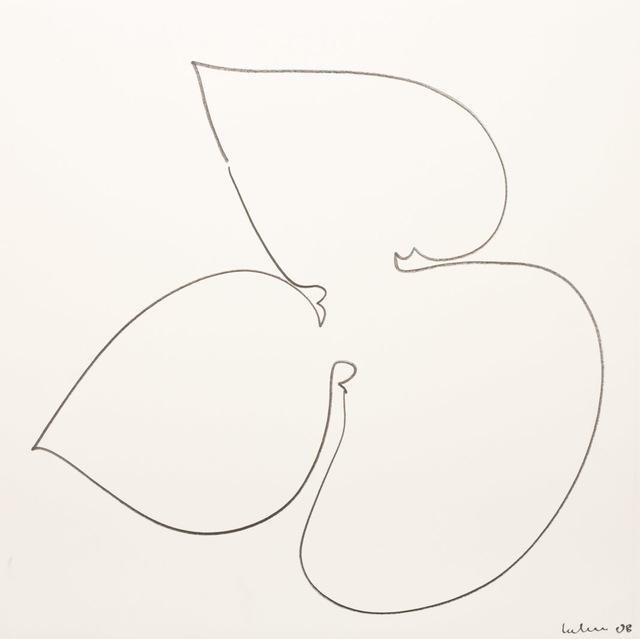 , 'Umriß 68,' 2008, Galerie Judith Andreae