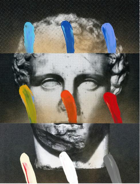 , 'Composition on Panel 17,' 2016, Joseph Gross Gallery