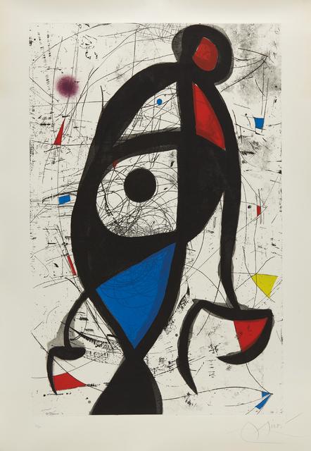 Joan Miró, 'La Contre-balancée (Counter-Balanced)', 1975, Phillips