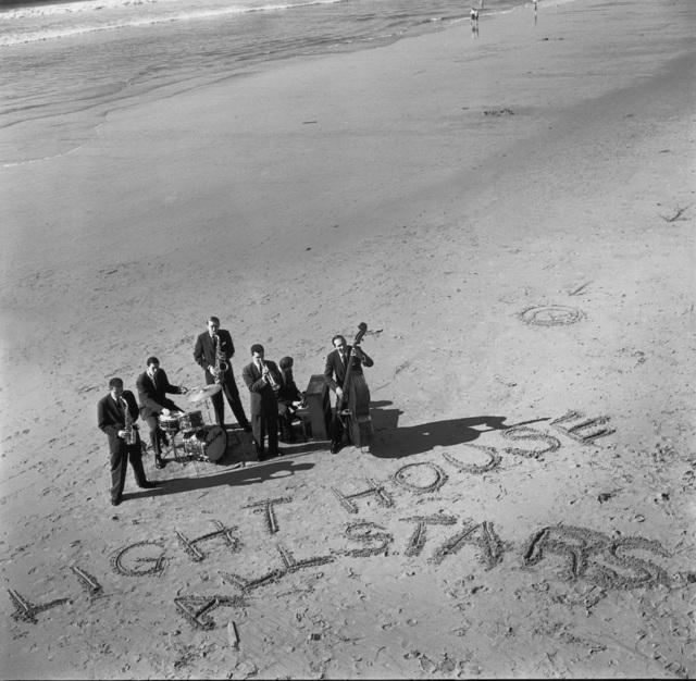 William Claxton, 'LIGHTHOUSE ALLSTARS, Hermosa Beach', 1955, Galerie Bene Taschen