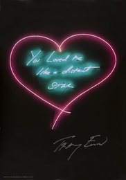 Tracey Emin, 'You loved me like a distant Star,' 2015, Forum Auctions: Editions and Works on Paper (March 2017)