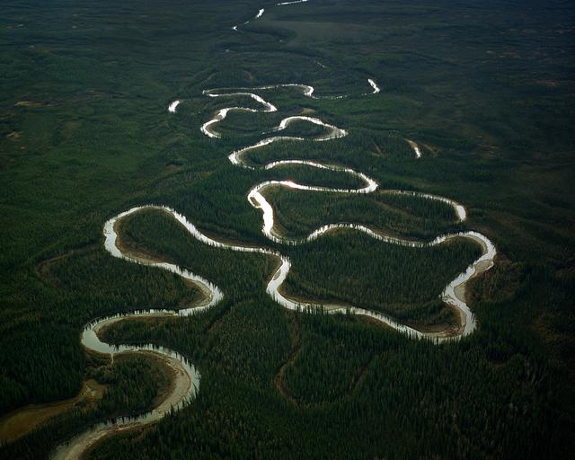 , 'Winding River, Northwest Territories,' 2005, Circuit Gallery