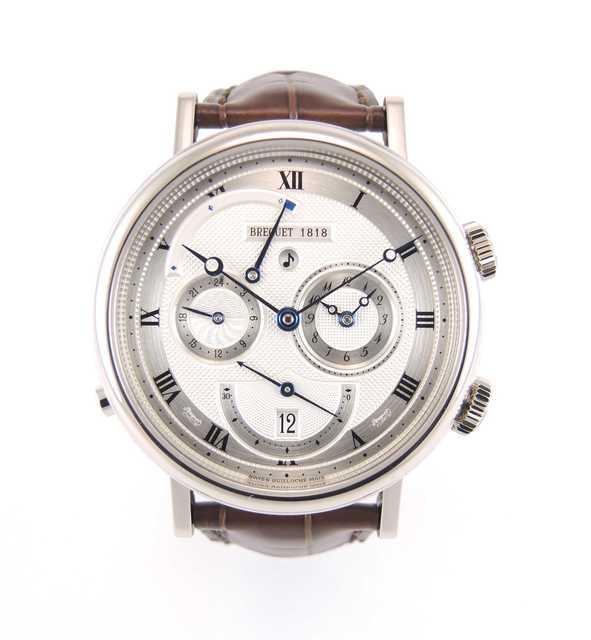 , 'Réveil du Tsar Or blanc 5707,' 2000-2009, Le Collection'Heure