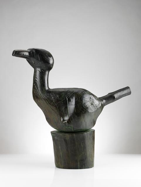 Wang Keping 王克平, 'Bird', 2008, Sculpture, Bronze with brown patina, Galerie Dumonteil