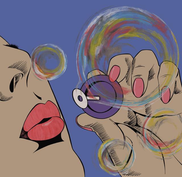 , 'Forever Bubbles 2,' 2016, Cynthia Corbett Gallery