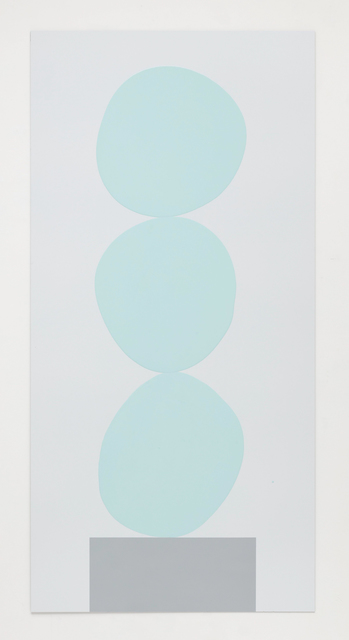 David Batchelor, 'Multi-Colour Chart 19 (pale blue)', 2018, Ingleby Gallery