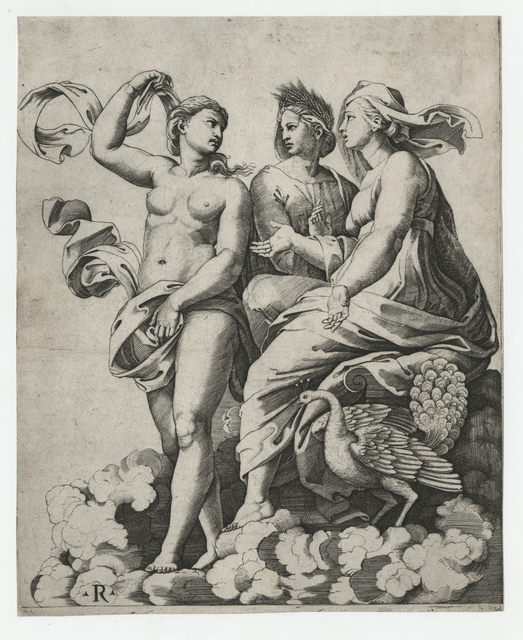 , 'Juno, Ceres, and Psyche,' Early 16th Century, Childs Gallery