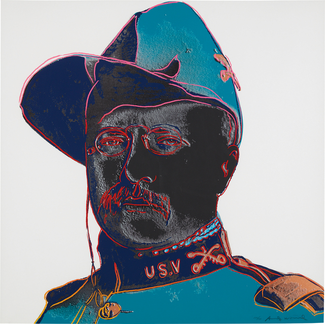 Andy Warhol, 'Teddy Roosevelt, from Cowboys and Indians', 1986, Phillips