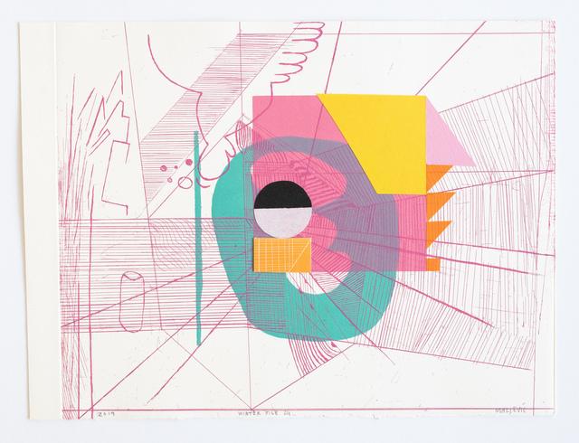 , 'Winter File 24,' 2019, David Krut Projects