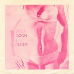 Record Cover of Single, Stille Døgn i Clichy, by The Young Norwegians (folk band created by Bjorn Morisse)