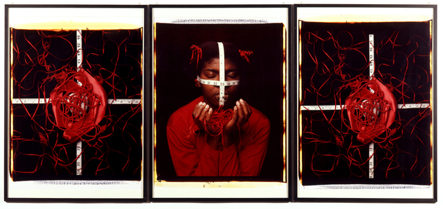 , 'RED COMPOSITION,' 1997, Galleria Pack
