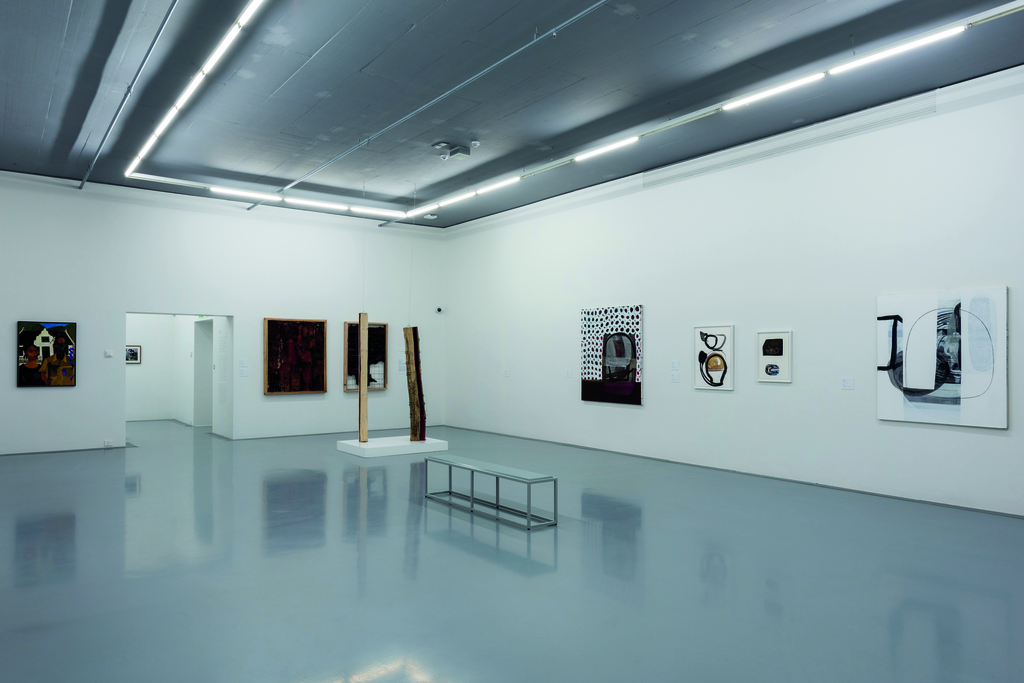 Five Bhobh: Painting at the End of an Era. Land theme. Installation view. ©Zeitz MOCAA.